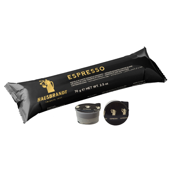 Mlevena espreso kafa u kapsuli namenjena za espresso aparat Guzzini. Kućni aparati za kafu. Pakovanje 10 kapsula u blisteru. Mešavina Arabike i Robuste espresso kafe. Ristretto, standardni espresso ili lungo produženi espresso.