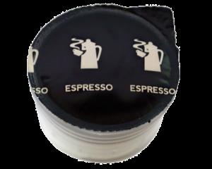 Herman kapsula Hausbrandt 7g espreso kafe. Standardna espreso kafa, mešavina arabike i robuste. Aparat za kafu Guzzini, aparat za espreso najbolji kućni aparat za kafu. Mlevena kafa u kapsuli.