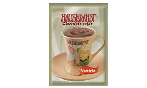 Hausbrandt crna topla čokolada sa ukusom lešnika. Prašak za prirpmanje toplog napitka na bazi crne čokolade i mleka sa aromom lešnika. Podgodno za pripremu na profesionalnim aparatima za espresso ili pripremu na pari.